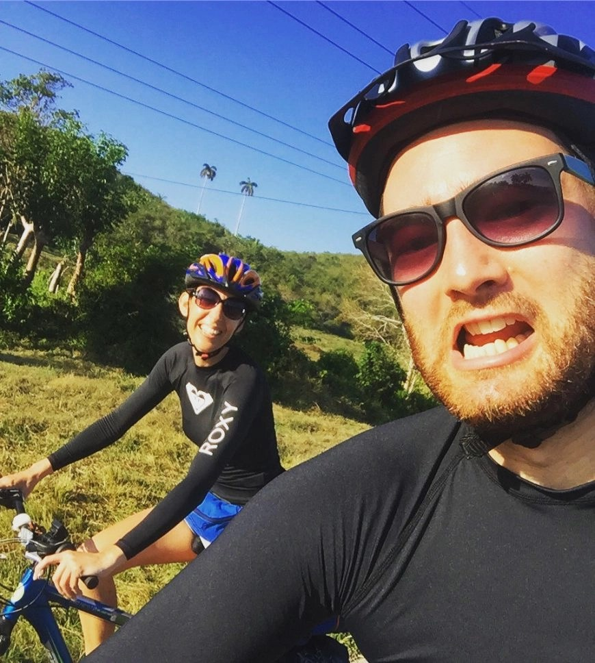 Destination Addict - Pushing through the cycling pain together in Cuba