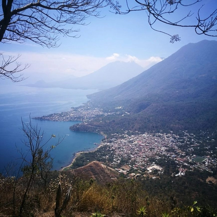 Destination Addict - Hiking up to the Indian Nose, Lake Atitlan, Guatemala