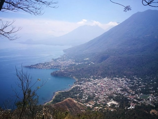 Hiking up to the Indian Nose, Lake Atitlan -  Backpacking in Guatemala