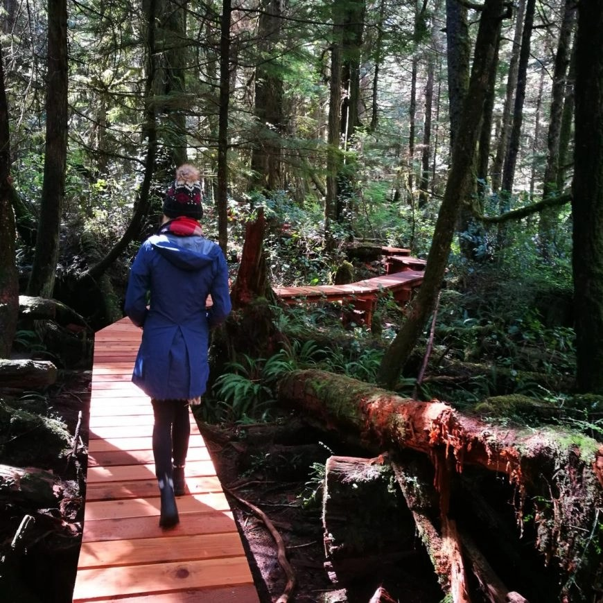 Destination Addict - Following the rain forest trails, near Tofino, British Columbia, Canada
