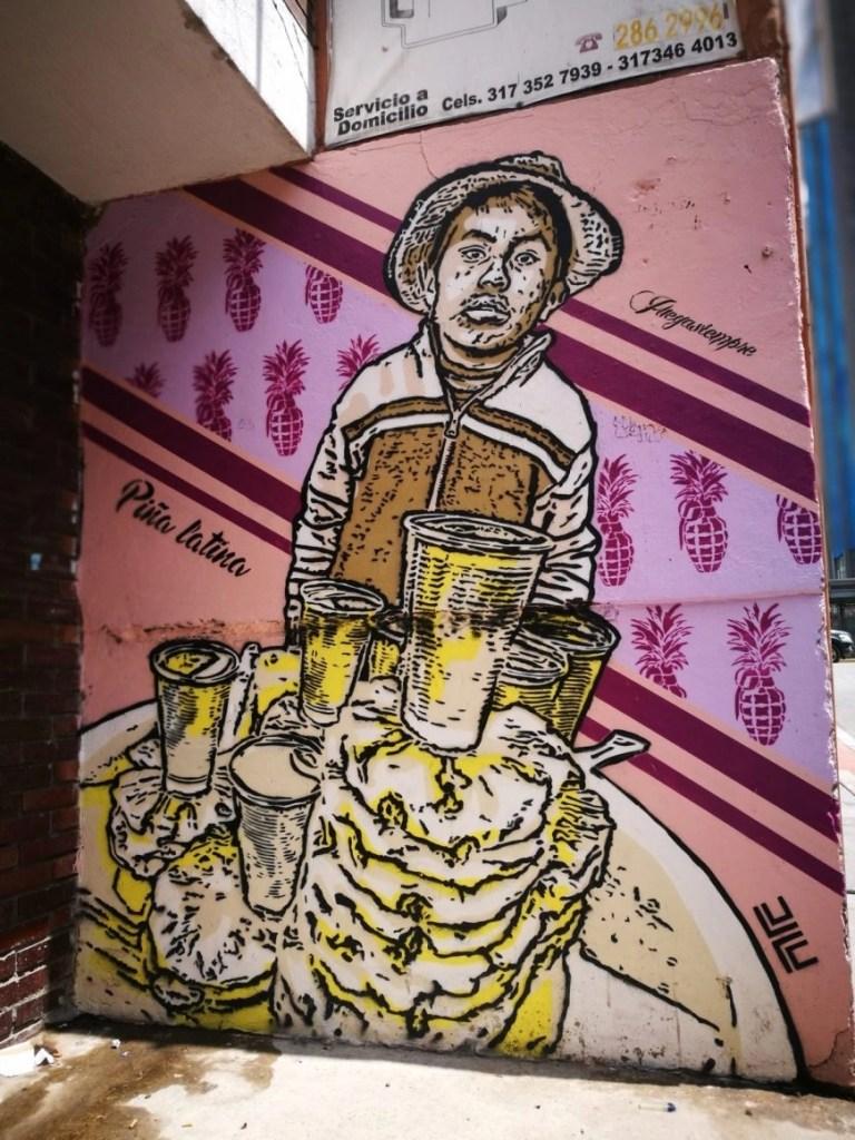 Destination Addict - Street art representing the troubles of child labour, Bogota, Colombia