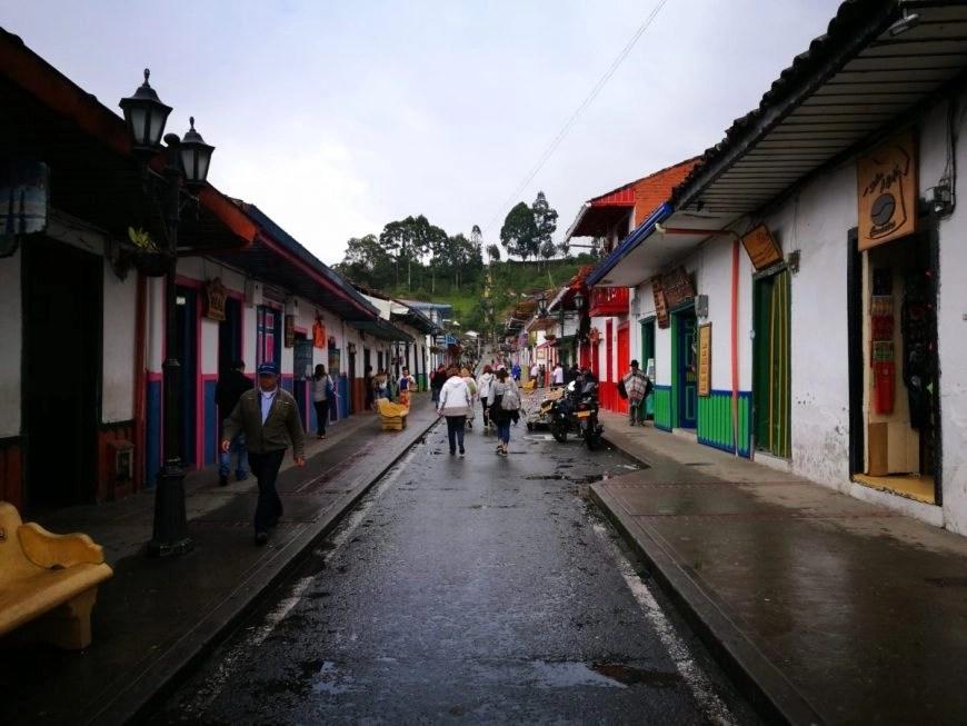 Destination Addict - Wandering up Salento's main street, Colombia