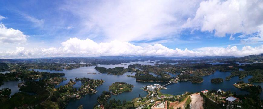 Destination Addict - Breathtaking views from El Penon de Guatape, Colombia