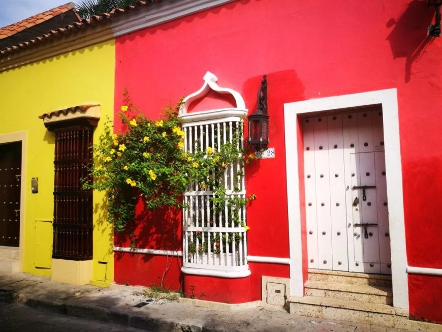 Destination Addict - The buildings certainly stand bright & proud in Cartagena, Colombia