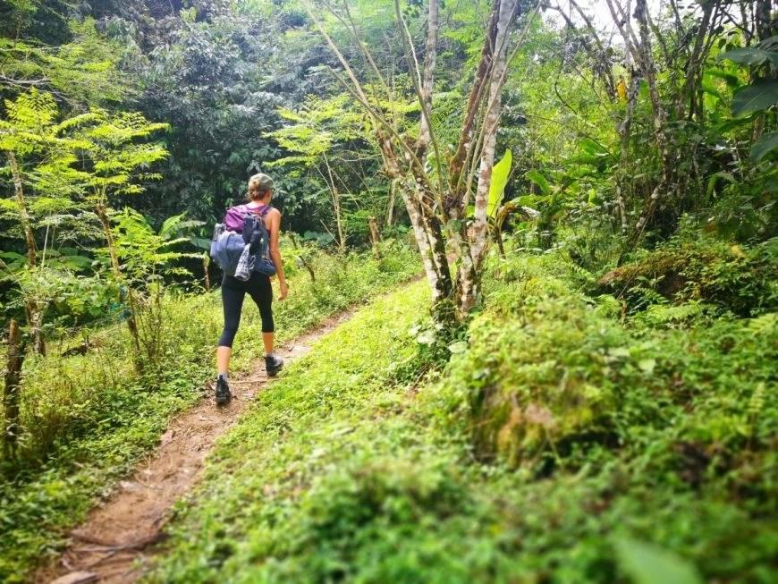 Destination Addict - Hiking through the jungle, Los Pinos Trek, Colombia