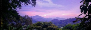 Destination Addict - Our favourite shade of sunset from Casa Loma, Minca Colombia