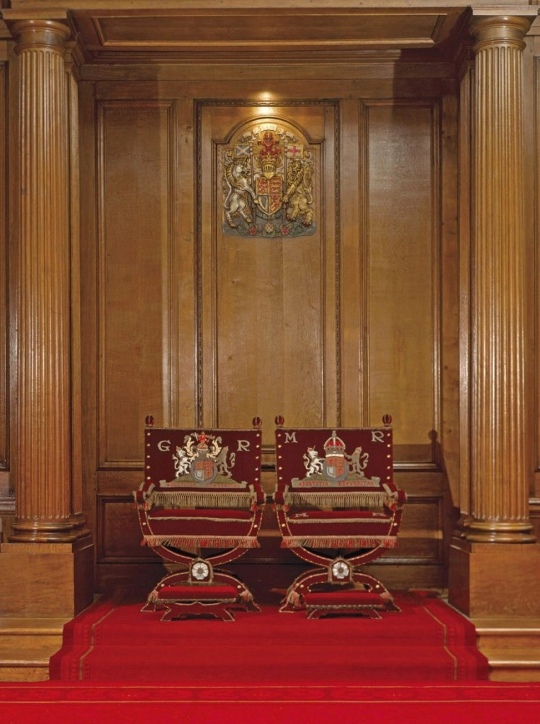 The Throne Room, The Palace at Holyroodhouse, Edinburgh. Credit - Royal Collection Trust / © Her Majesty Queen Elizabeth II 2018 - Destination Addict 24 Hours In Edinburgh