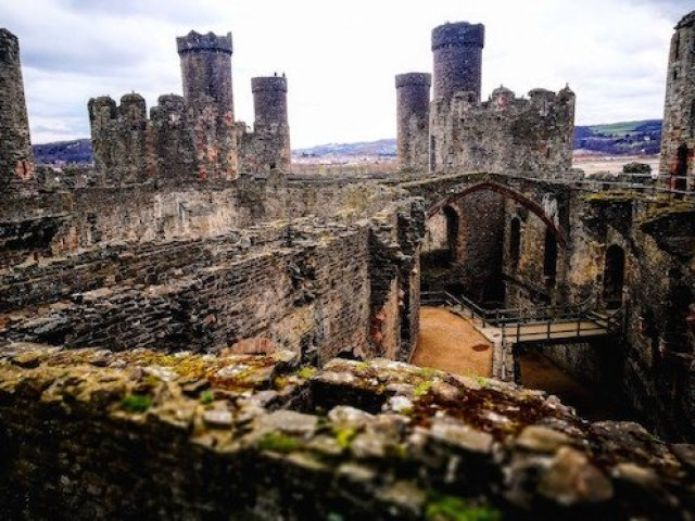Days Out In North Wales  - Conwy Castle, Wales - Destinastion Addict