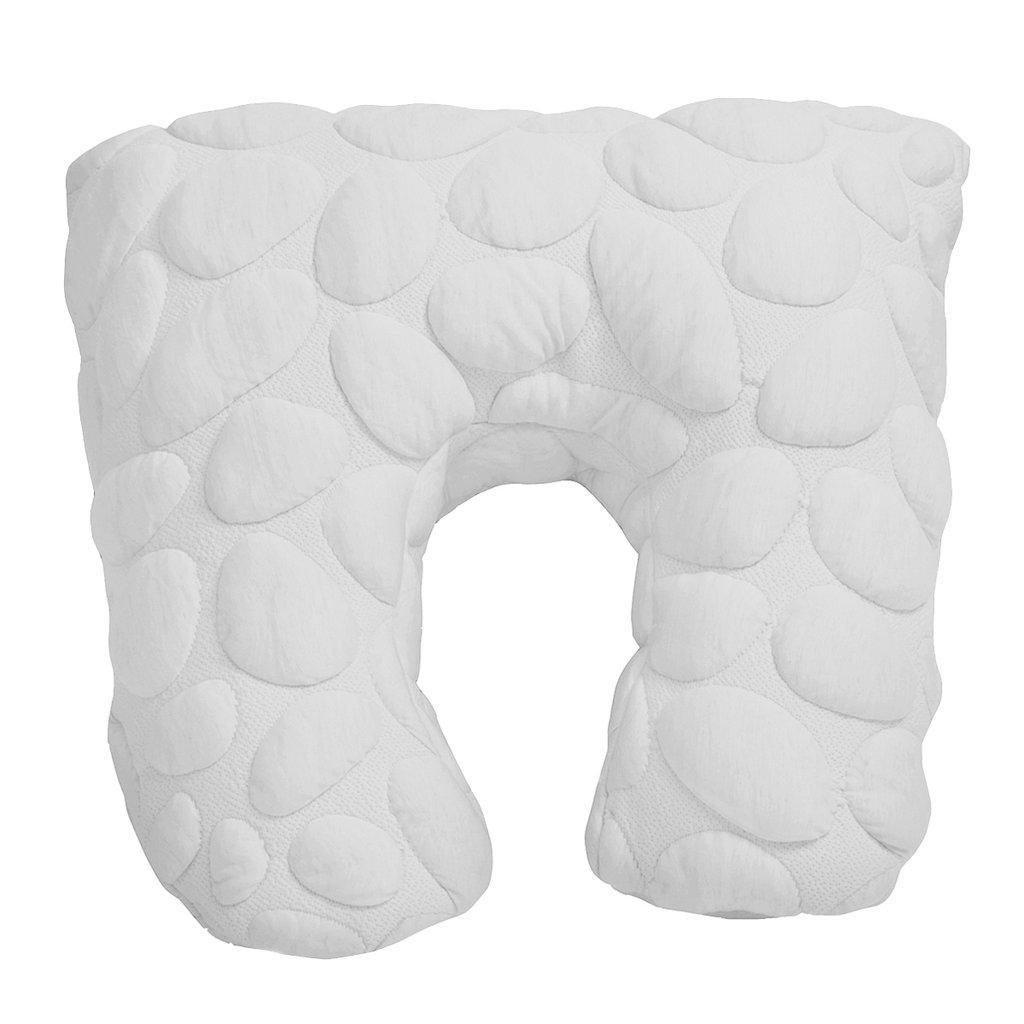 nook sleep niche nursing pillow in cloud