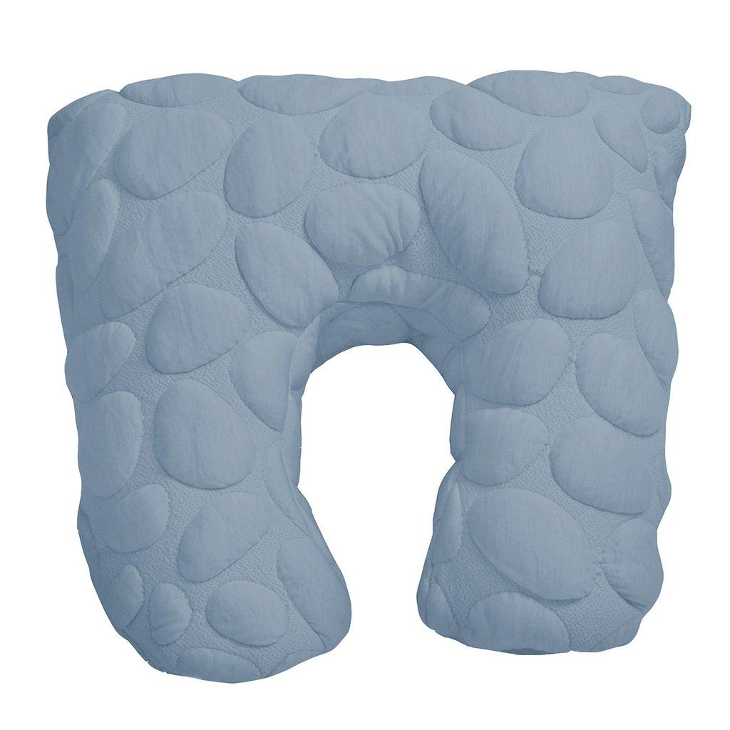 nook sleep niche nursing pillow in sky blue