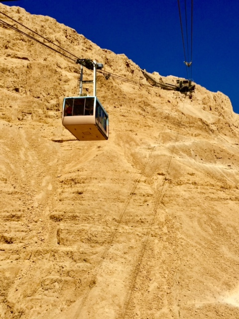 Cable Car Ride to the top of Masada