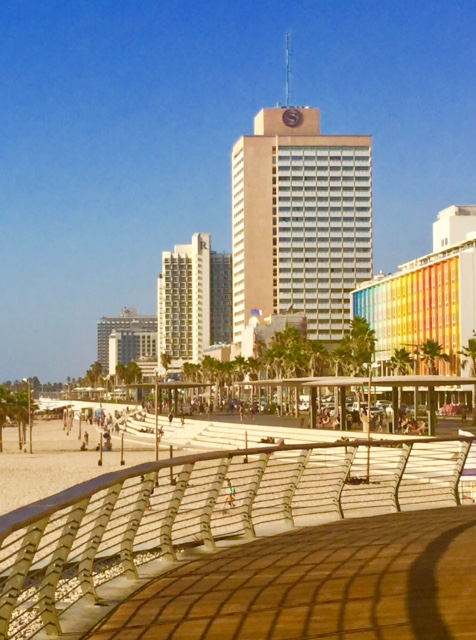 View from Tel Aviv's Beach Promenade