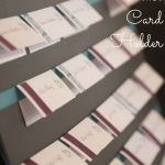 Wedding DIY-Part II: Place Card and Holder
