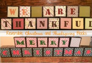Christmas and Thanksgiving Blocks-Pinterest