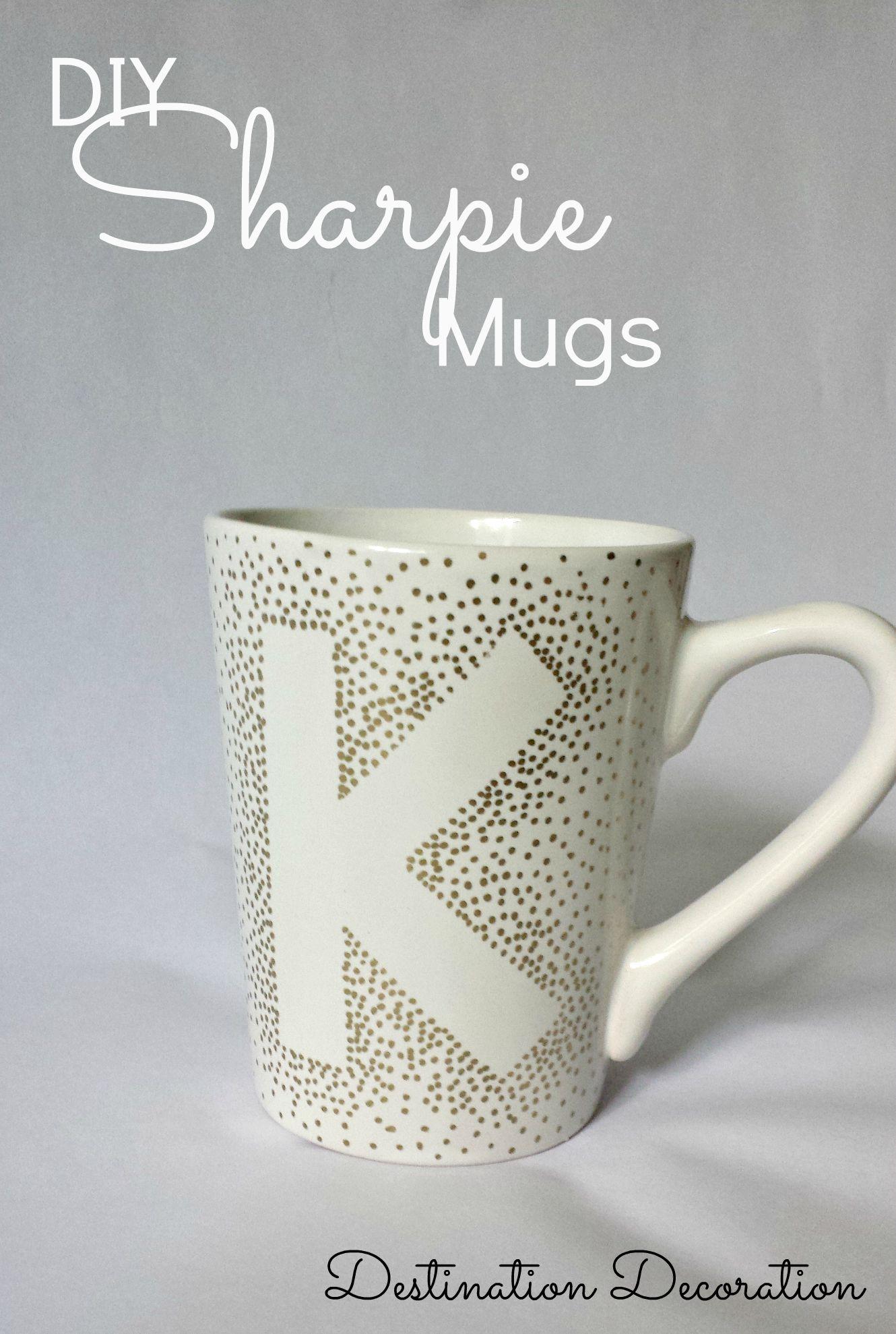 Diy Sharpie Mugs Using Dollar Tree Mugs