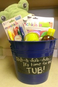Baby Shower Gift Bucket