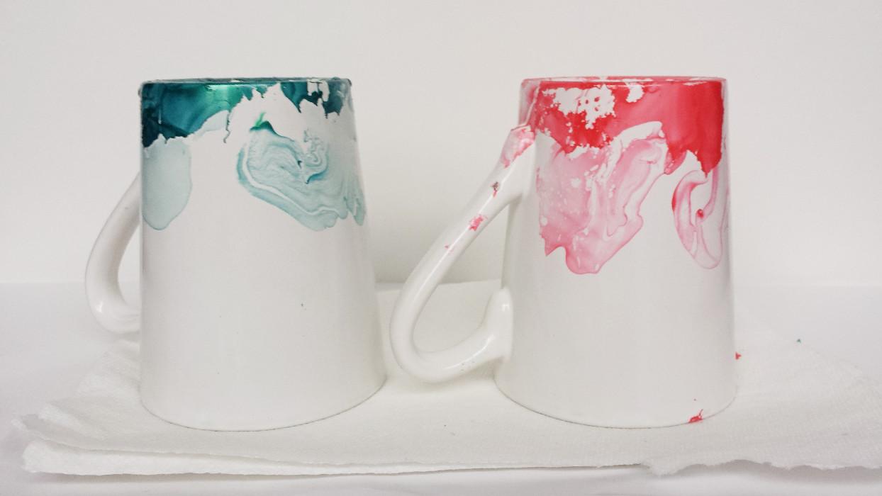Marbled nail polish mugs 6 things i wish i had known before making marbled nail polish mugs 6 things i wish i had known before making them solutioingenieria Images