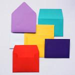 How to Make Handmade Envelopes {With Homemade Envelope Glue}