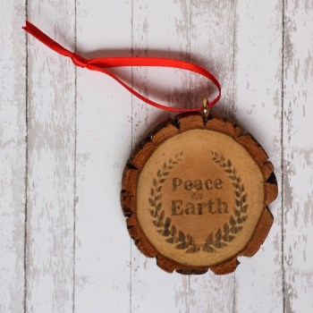 How to Make Inexpensive Rustic Ornaments
