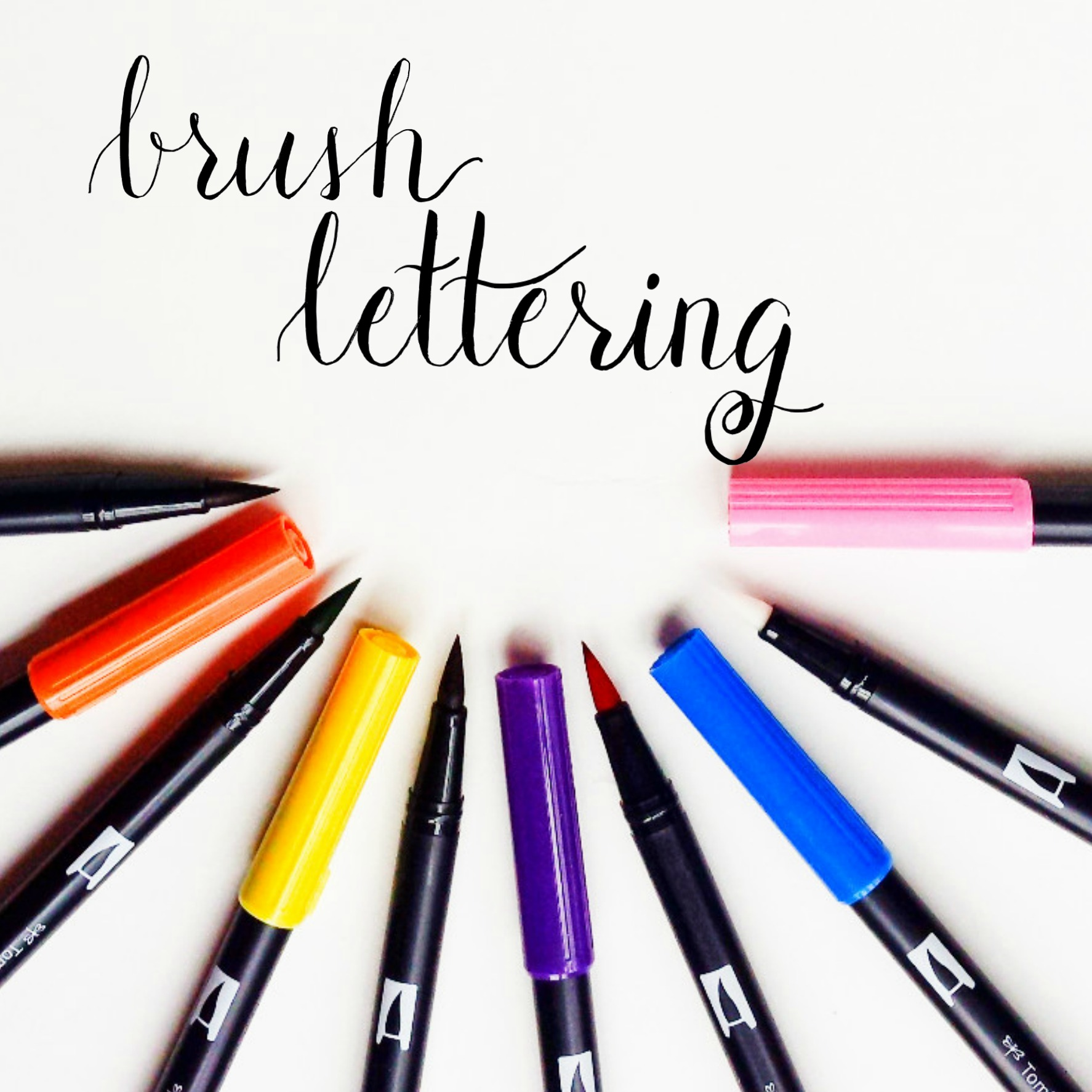 The Beginners Guide to Brush Lettering