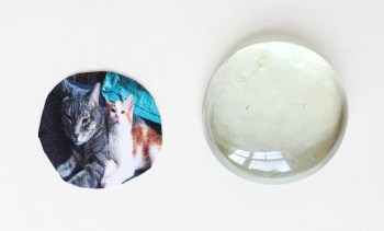 DIY Photo Magnets with Dollar Store Gems - Easy and Useful Crafts from Destination Decoration