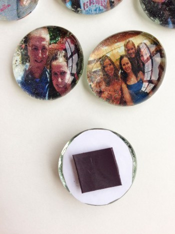 Make Photo Magnets Using Dollar Tree Gems - An Easy and Useful Craft from Destination Decoration
