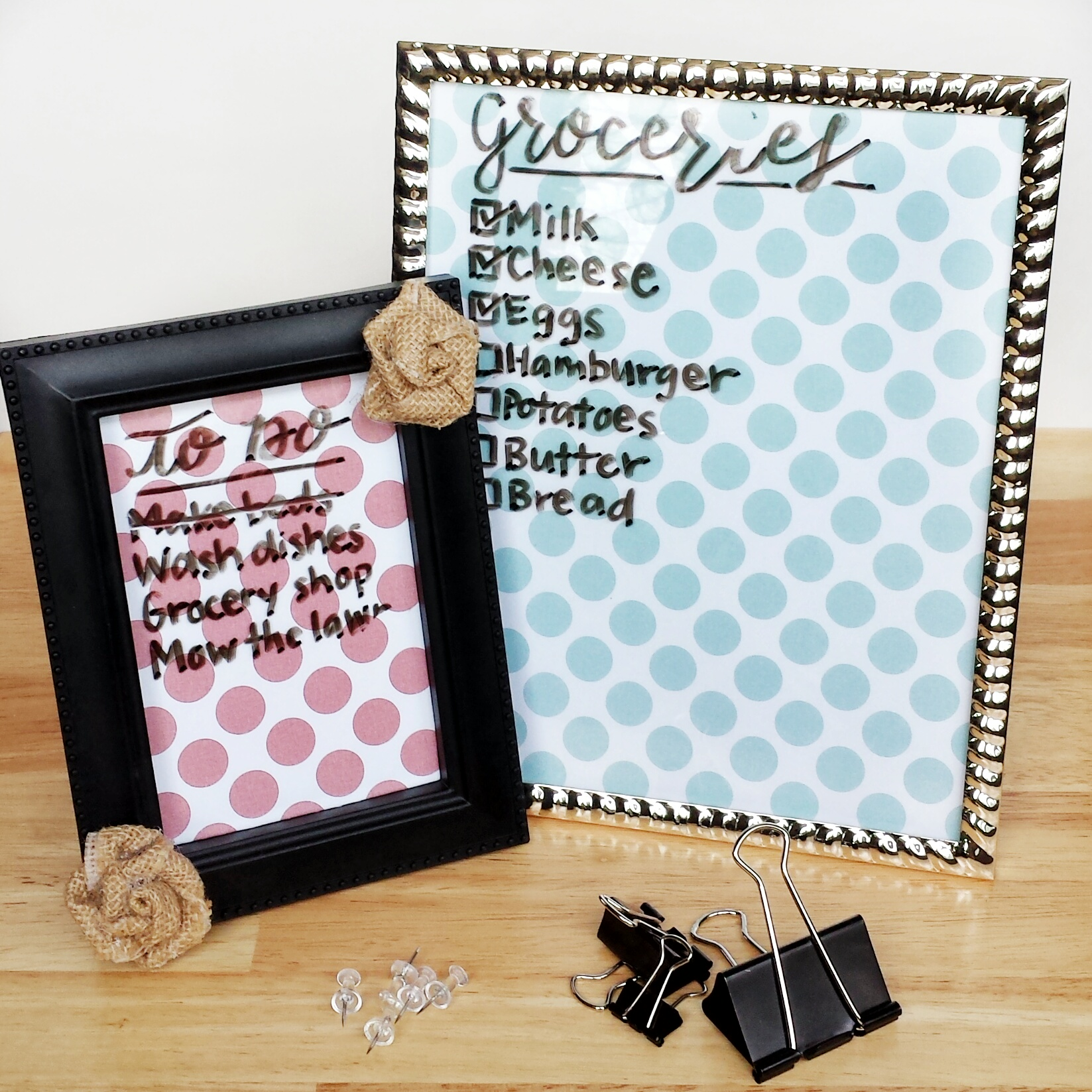 How To Make Your Own Dry Erase Board With A Picture Frame | Create A Dry.  How To Make Your Own Dry Erase Board With A Picture Frame | Create A Dry
