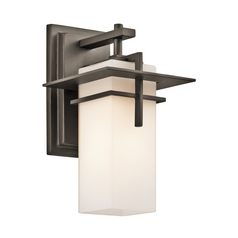 Kichler Caterham Outdoor Wall Light   49642OZ   Destination Lighting Kichler Caterham Outdoor Wall Light