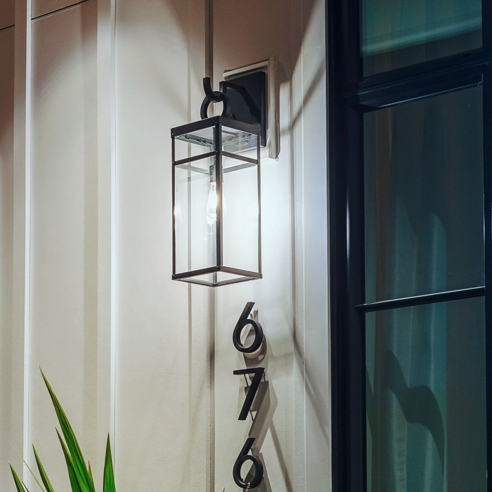 hinkley porter aged zinc outdoor wall light at destination lighting