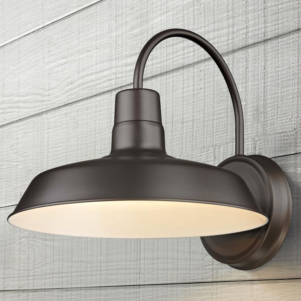 barn light bronze 12 inch wide by design classics lighting at destination lighting