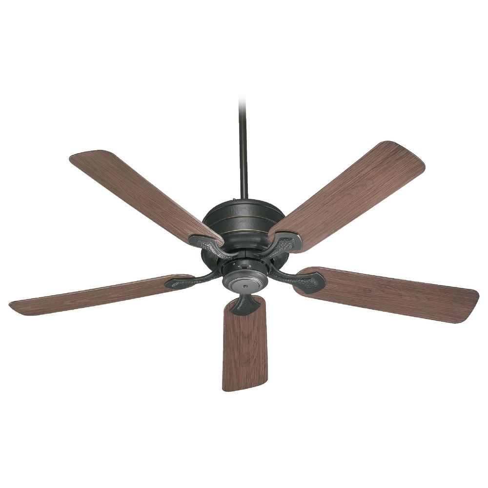 Lighting Quorum Lighting Hanover Old World Ceiling Fan