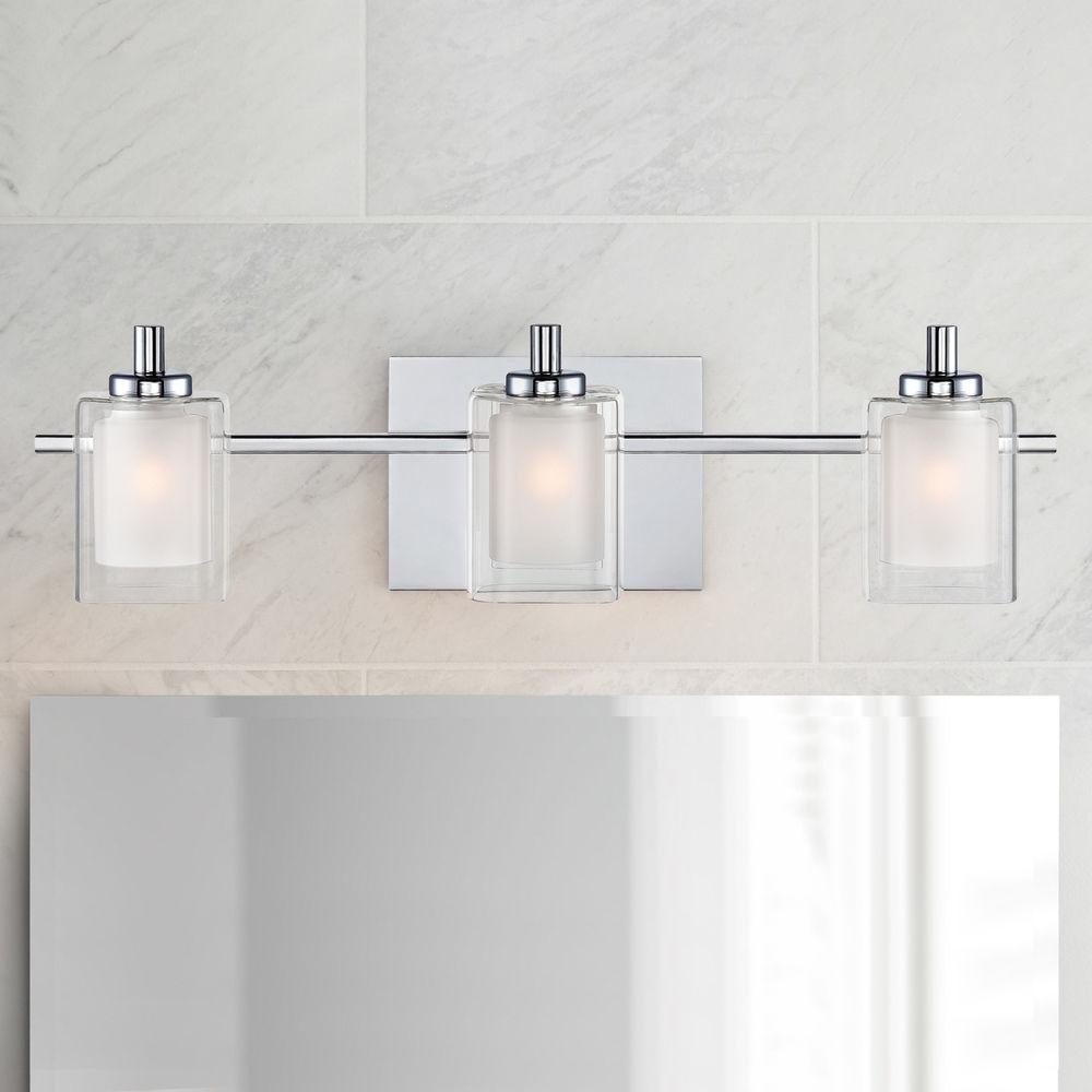 quoizel lighting kolt polished chrome bathroom light at destination lighting