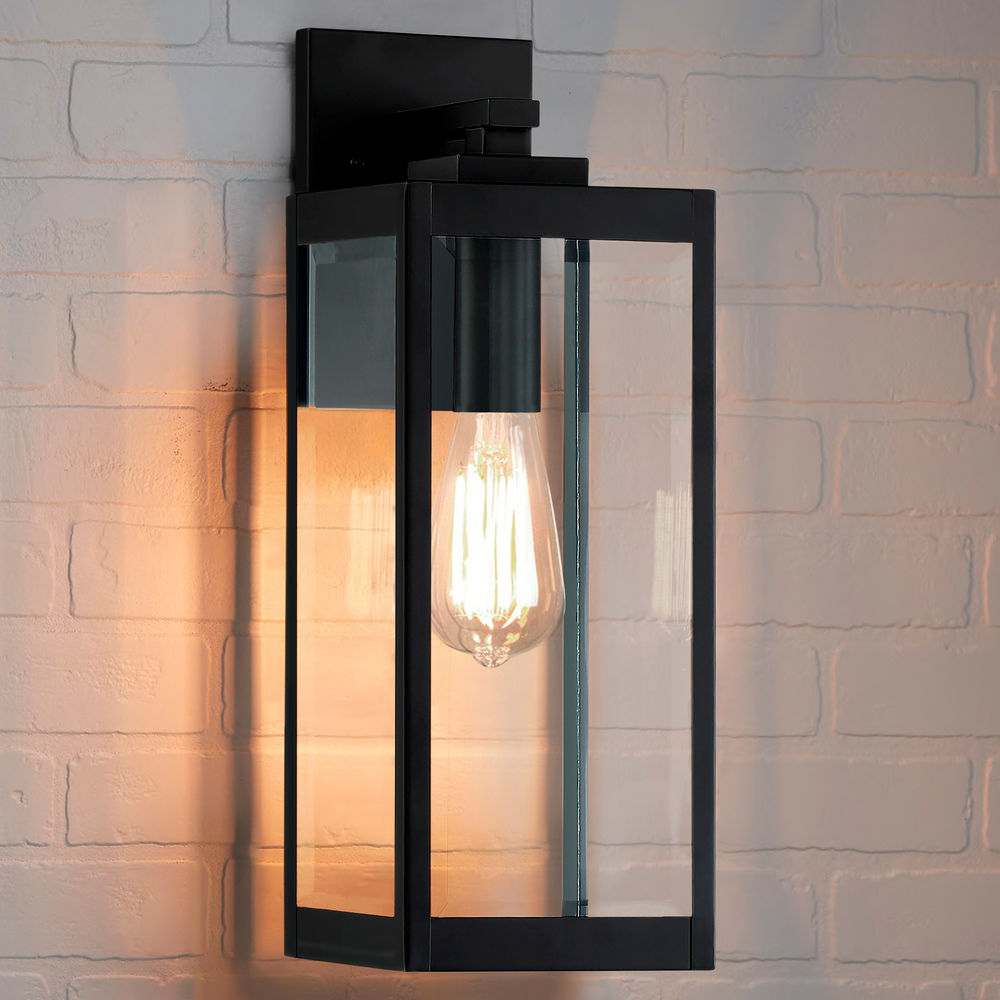 arts and crafts industrial outdoor wall light black westover by quoizel lighting at destination lighting