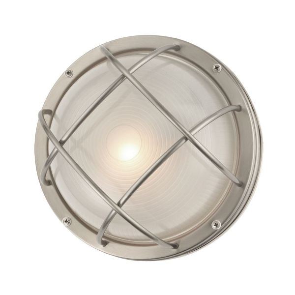 Marine Bulkhead Round Outdoor Wall   Ceiling Light   10 inches Wide     Design Classics Lighting Marine Bulkhead Round Outdoor Wall   Ceiling Light    10 inches Wide