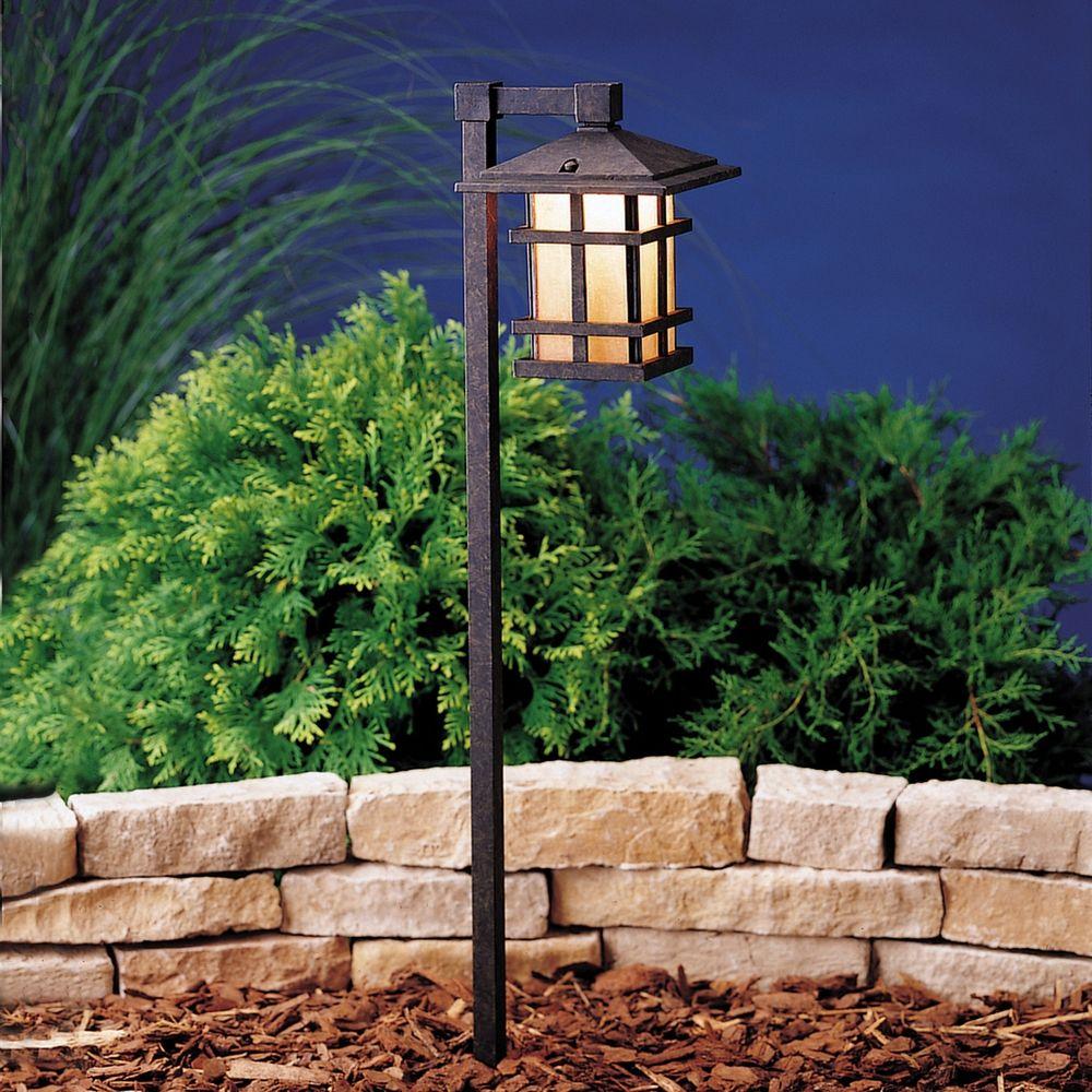 kichler low voltage path light at destination lighting