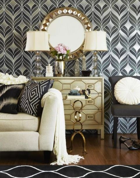 Going gatsby gasp worthy 1920s home decor furnishmyway blog for 1920s living room ideas