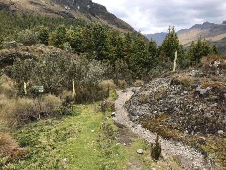 Cajas National Park Boundary