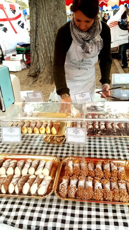 Sicilian Cannoli at Chelsea Market © Fifi Haroon