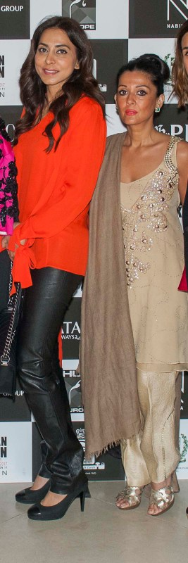 Bushra and Faiza Rangoonwala