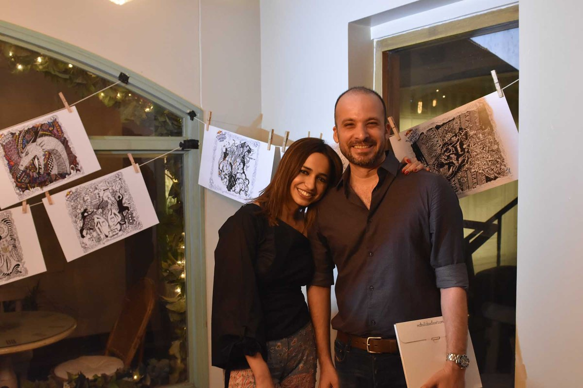 Maria Mahesar and Bilal Khan