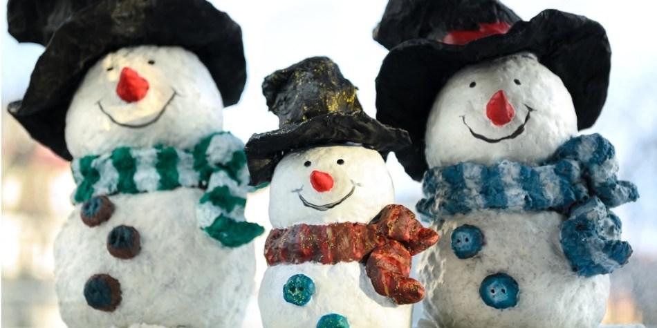 paper-mache-snowman