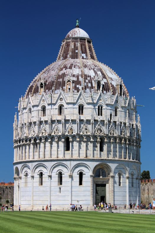 Baptistery of St John in Pisa