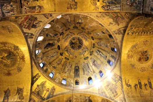 The Ceiling of the Basilica San Marco