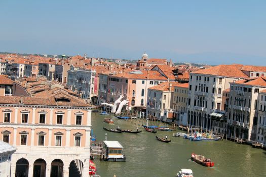 View of the Grand Canal from the Hanseatic Warehouse