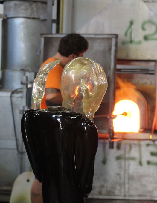 Glass Blowing on Murano - Making the Scream