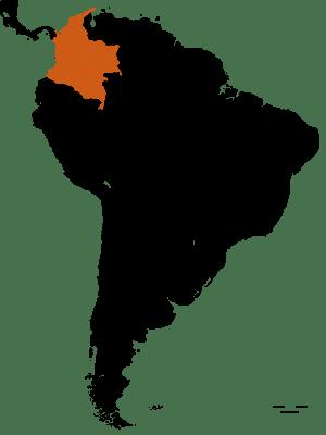 Carte de la Colombie - DESTINATIONS LATINES
