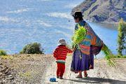 La Dame du lac Titicaca - Bolivie