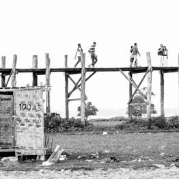 Toilet facilities at U Bein Bridge