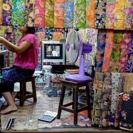 Selling fabrics