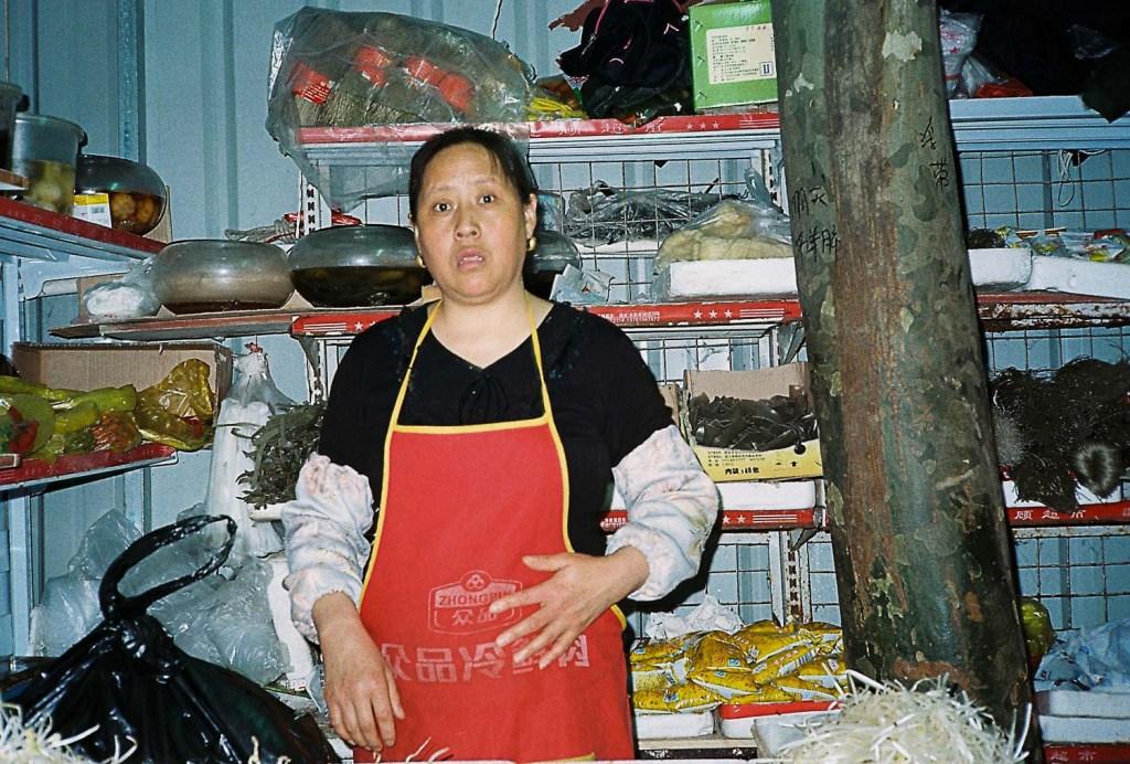 Mercado em Xangai